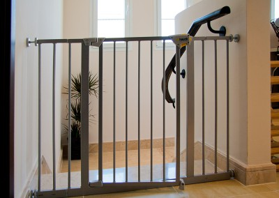 Hauck silver stair gate- Dubai Arabian Ranches
